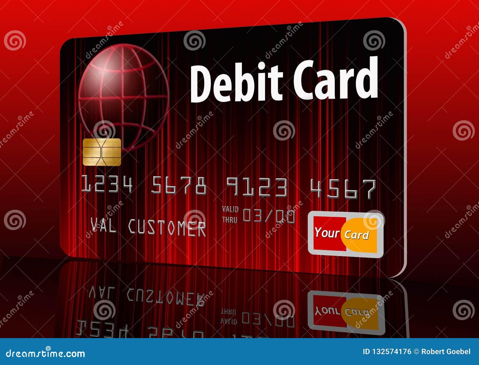 Fausse carte bancaire générique i