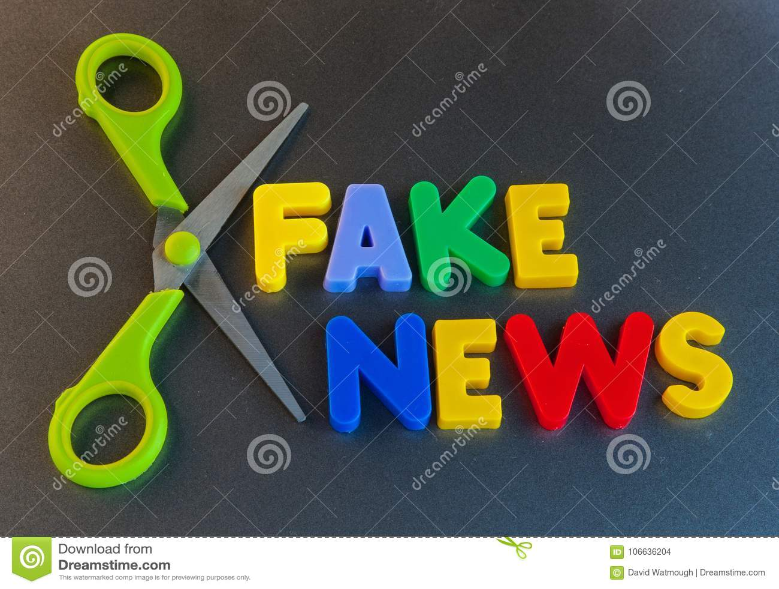 Fausses actualités coupées