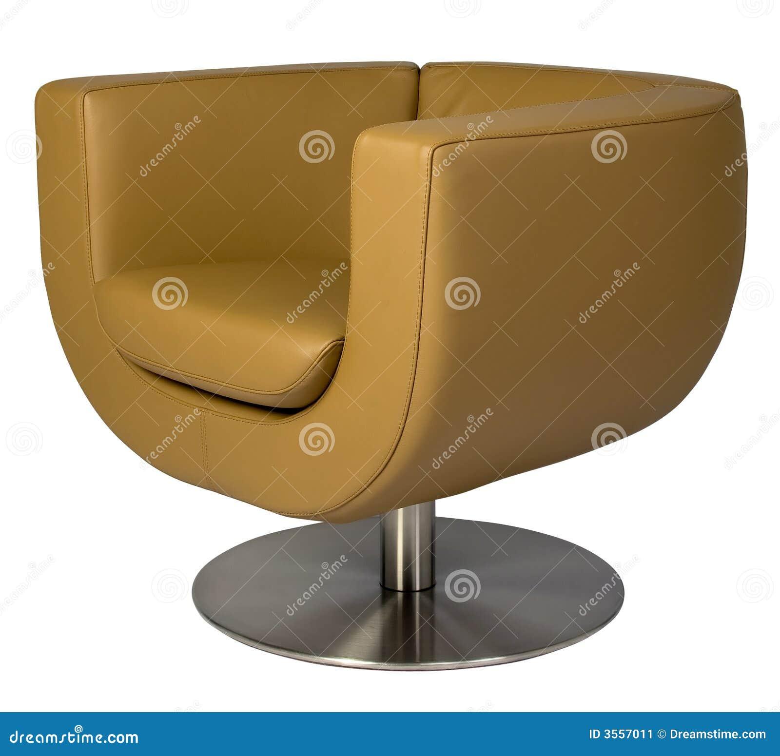 Fauteuil en cuir de salon image stock image 3557011 - Fauteuil de salon en cuir ...