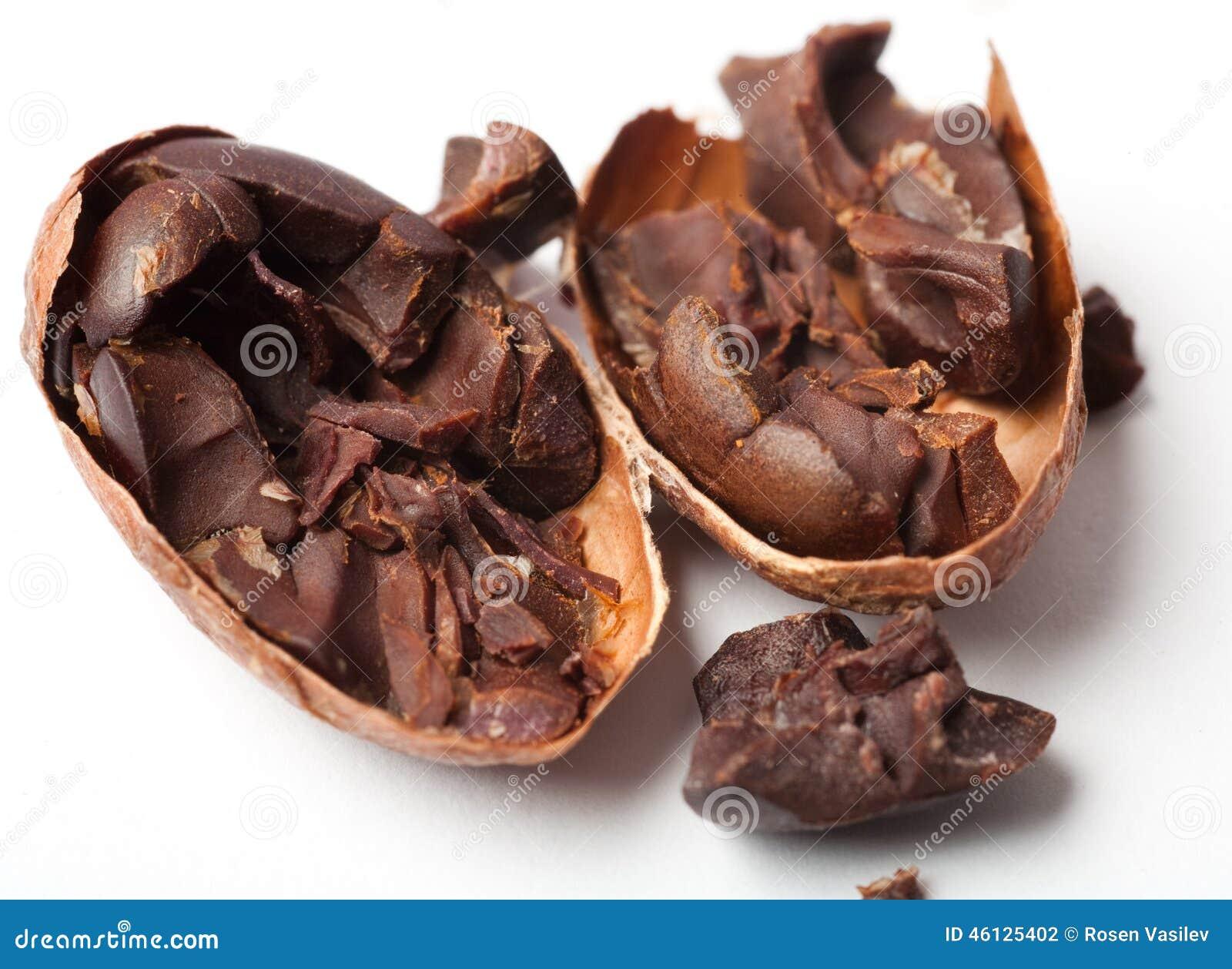 Fave di cacao grezze