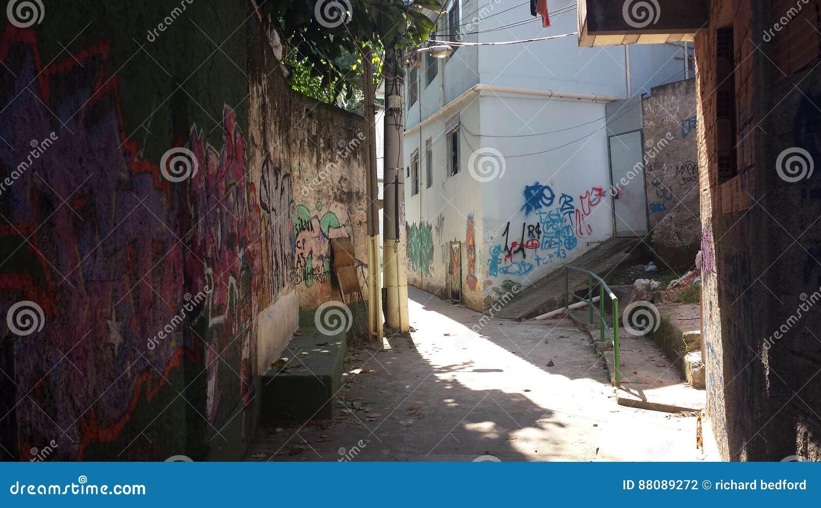 Favela Brésil de Rio De Janeiro