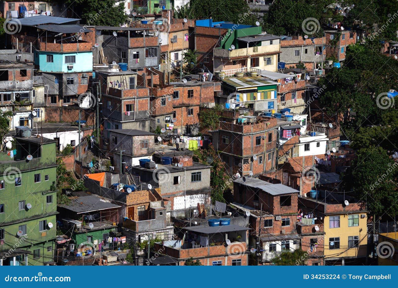 Favela em Rio De janeiro