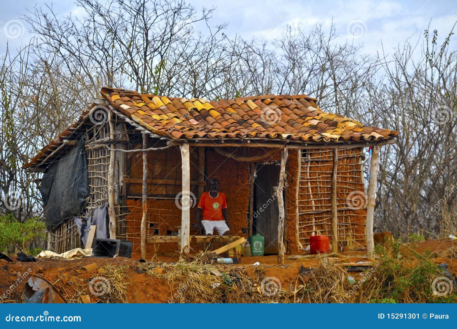 Wattle and Daub Homes Clip Art