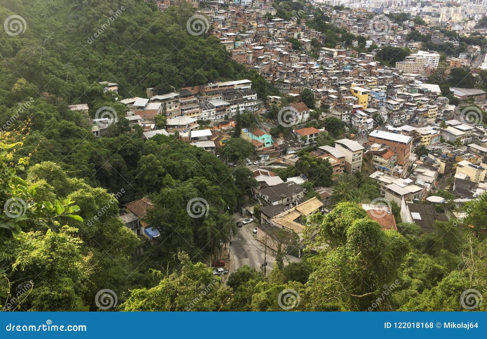 Favela Morro DOS Prazeres in Rio de Janeiro