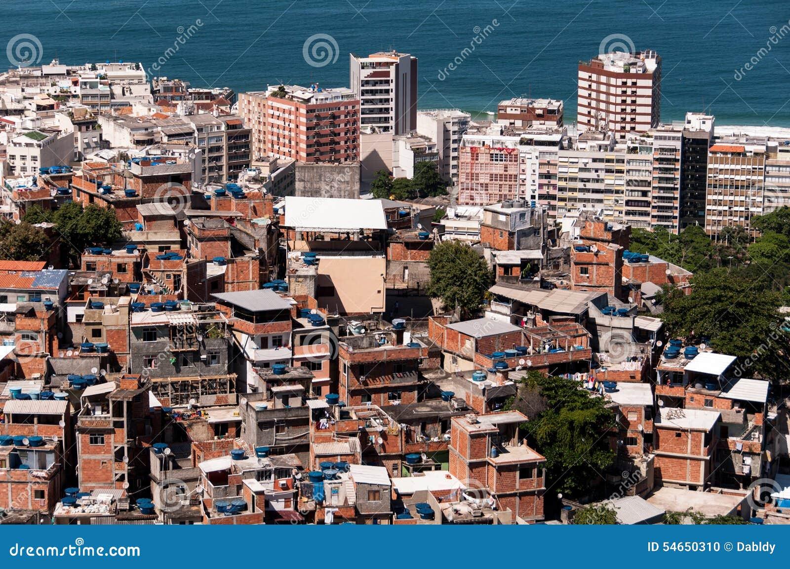 Favela van Rio DE janeiro