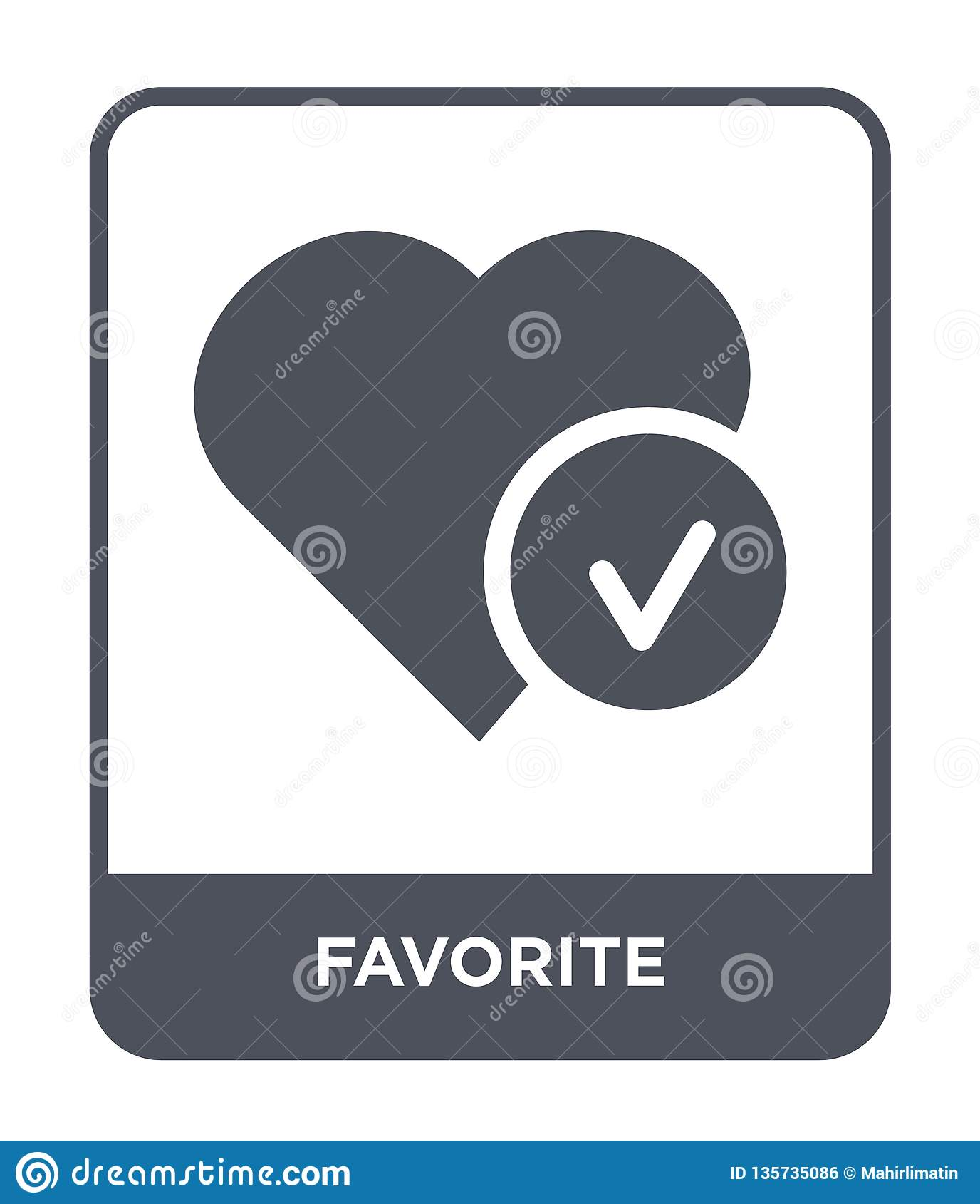 favorite icon in trendy design style. favorite icon isolated on white background. favorite vector icon simple and modern flat