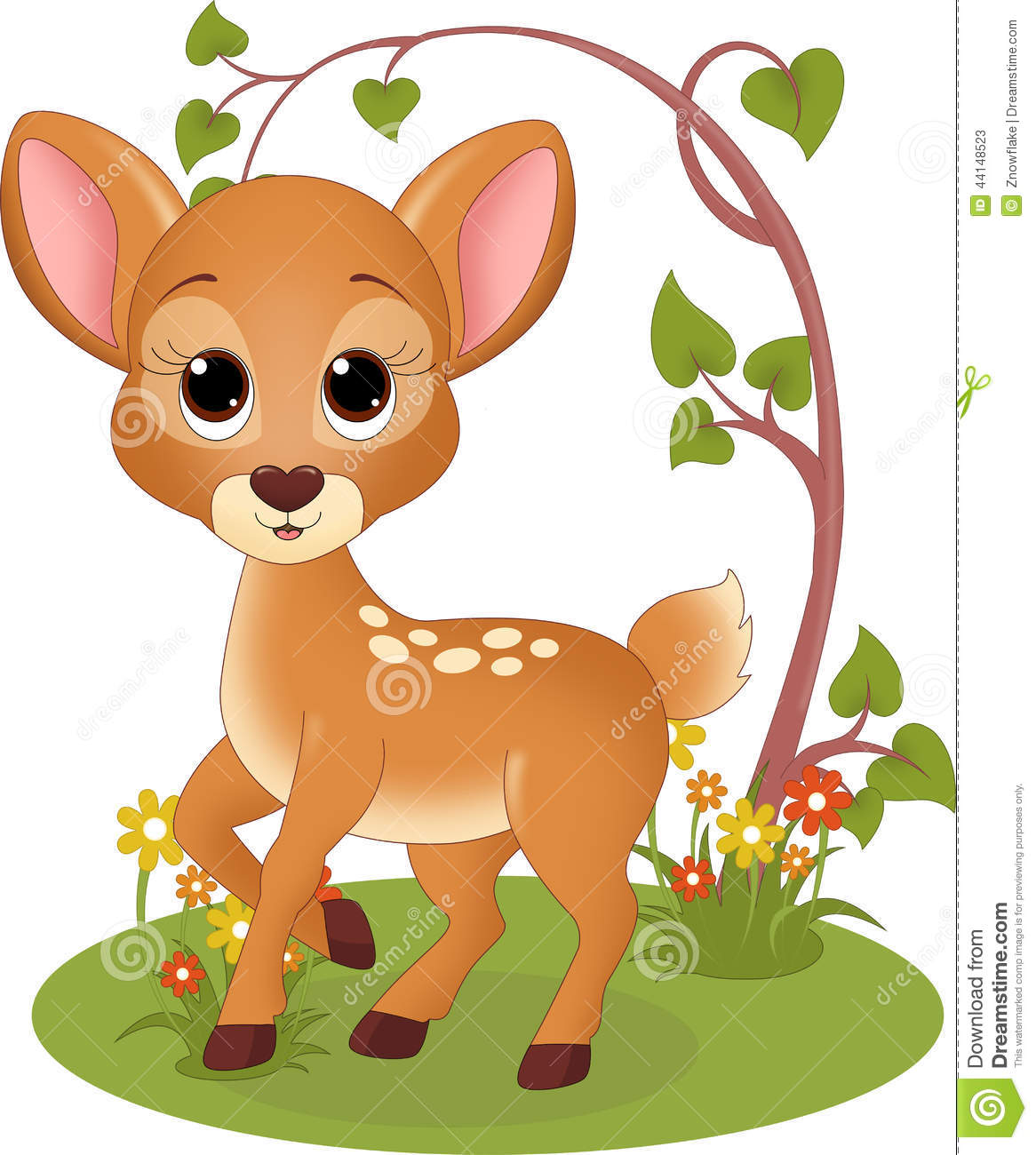 Fawn Cartoons, Illustrations & Vector Stock Images - 1575 ...
