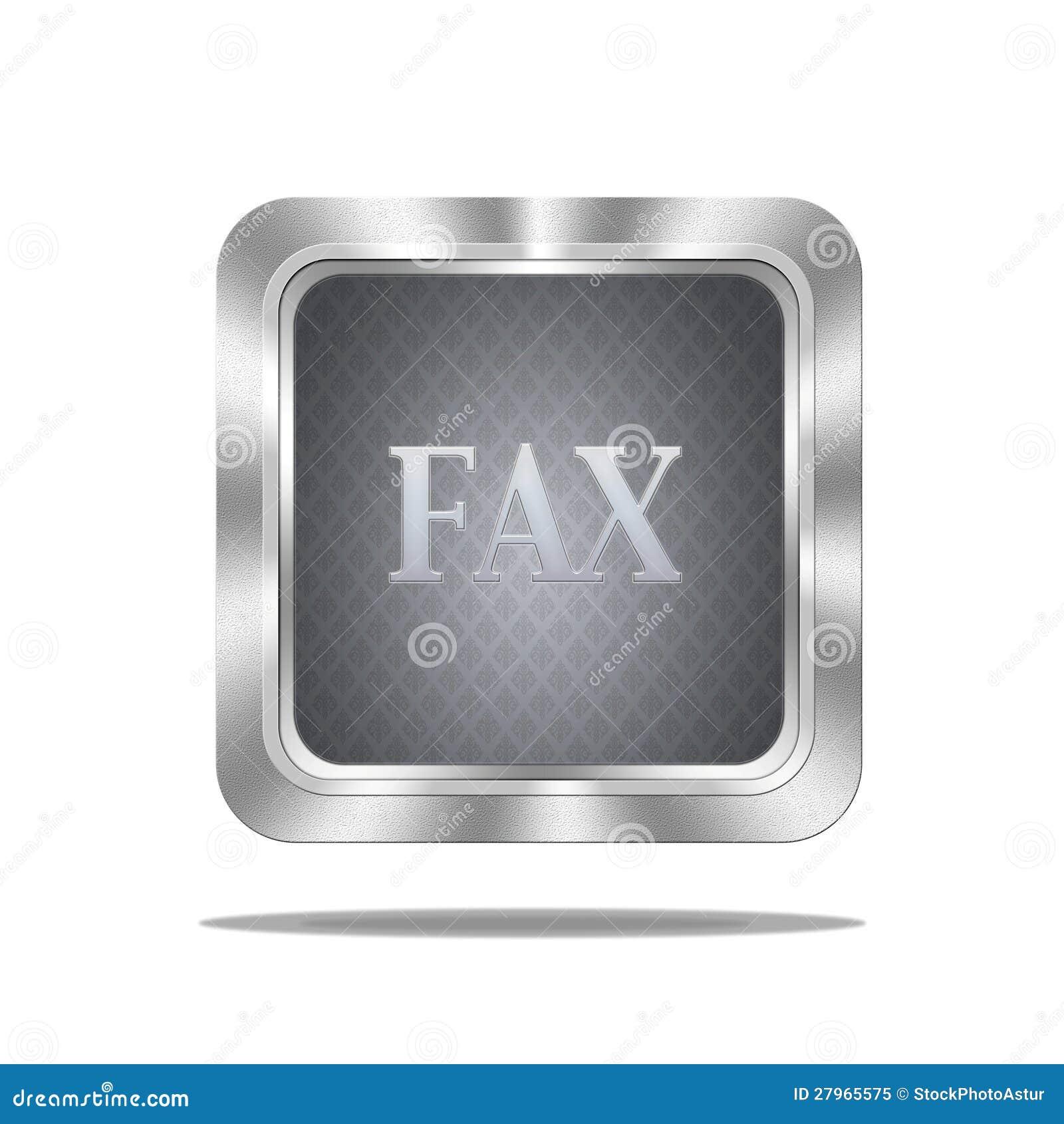 Fax button.