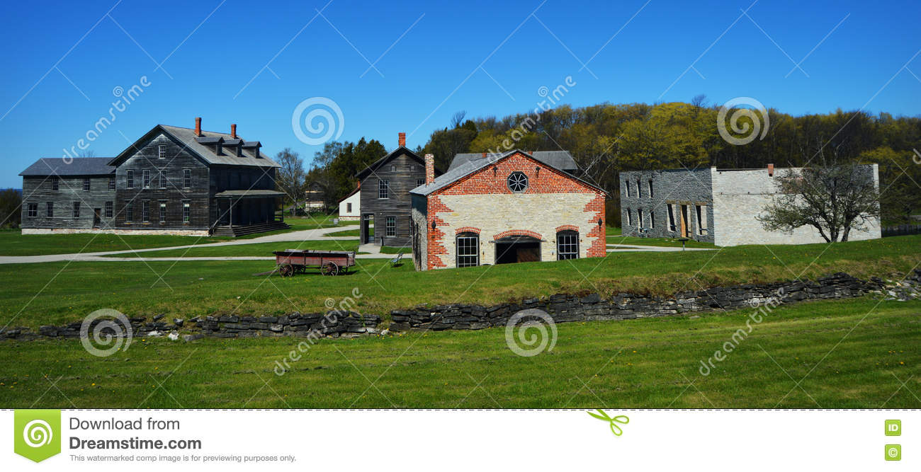 Fayette Historic Townsite Stock Photo 73349184