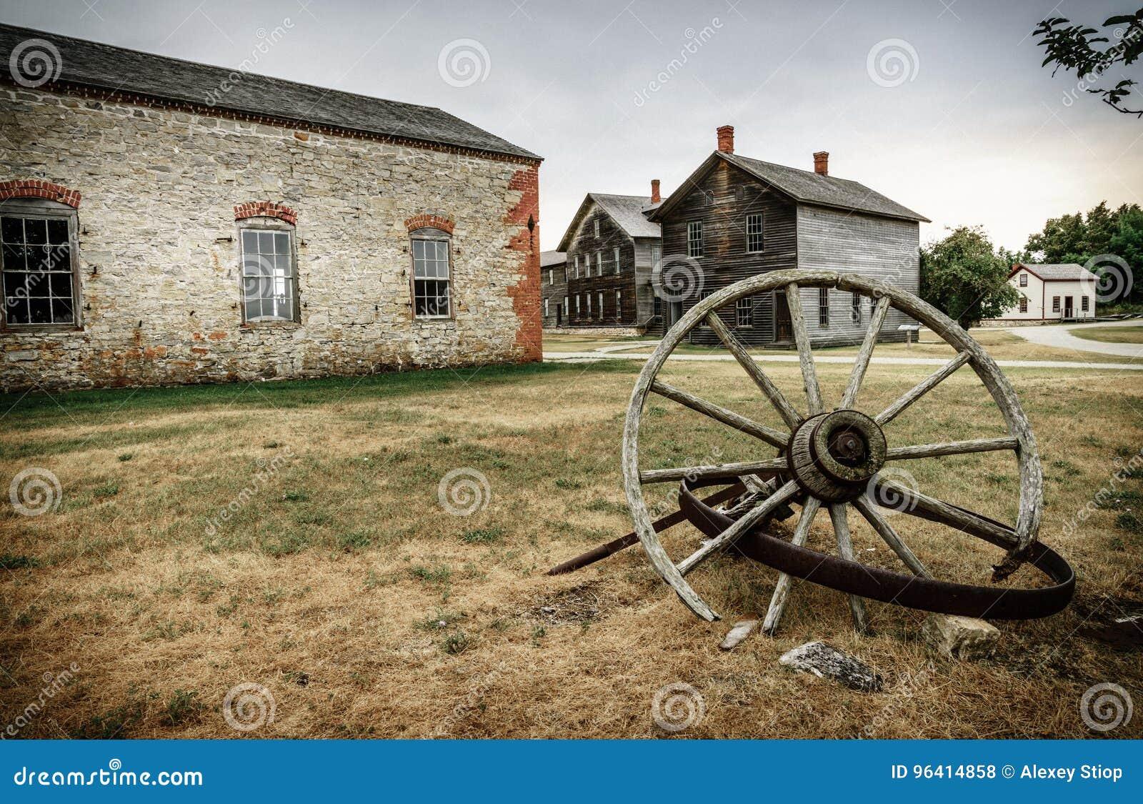 Fayette Townsite historique
