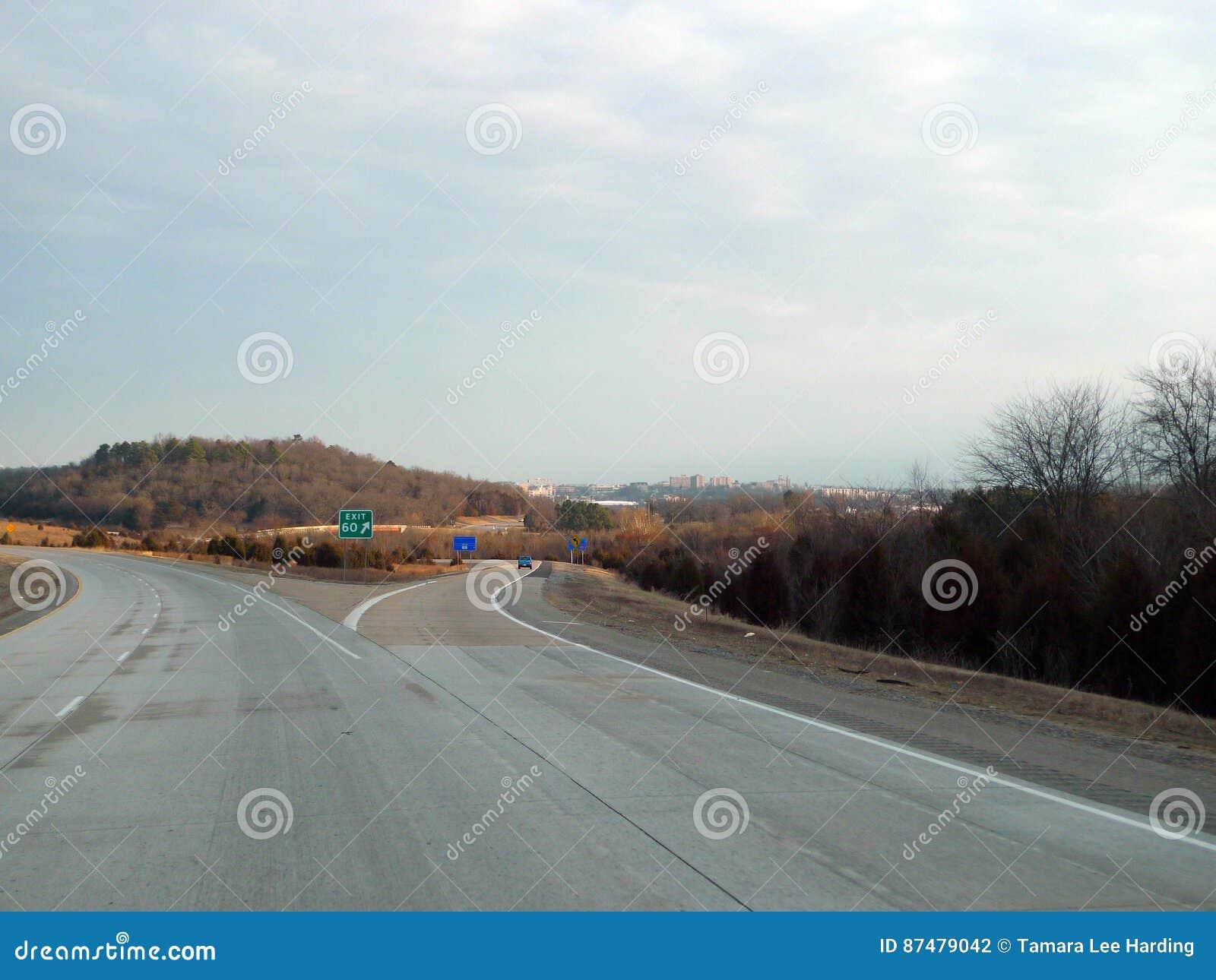 Fayetteville, εθνική οδός 49, έξοδος 60 του Αρκάνσας