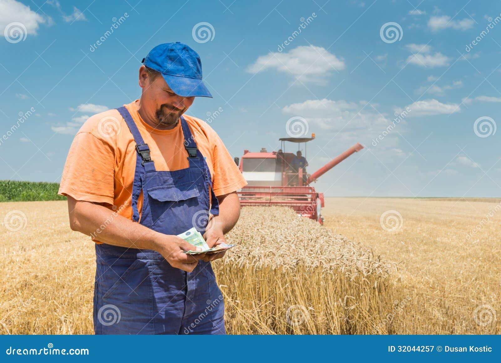 Fazendeiro feliz
