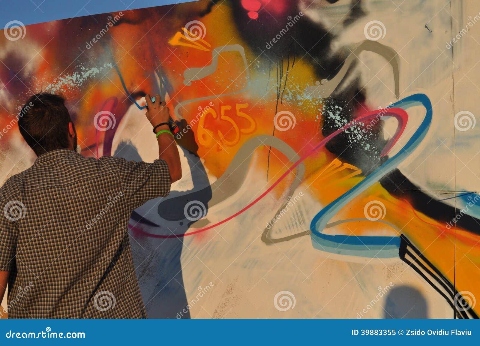 Fazendo grafittis