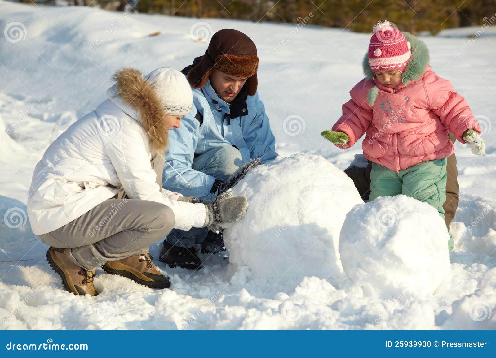 Fazendo o boneco de neve