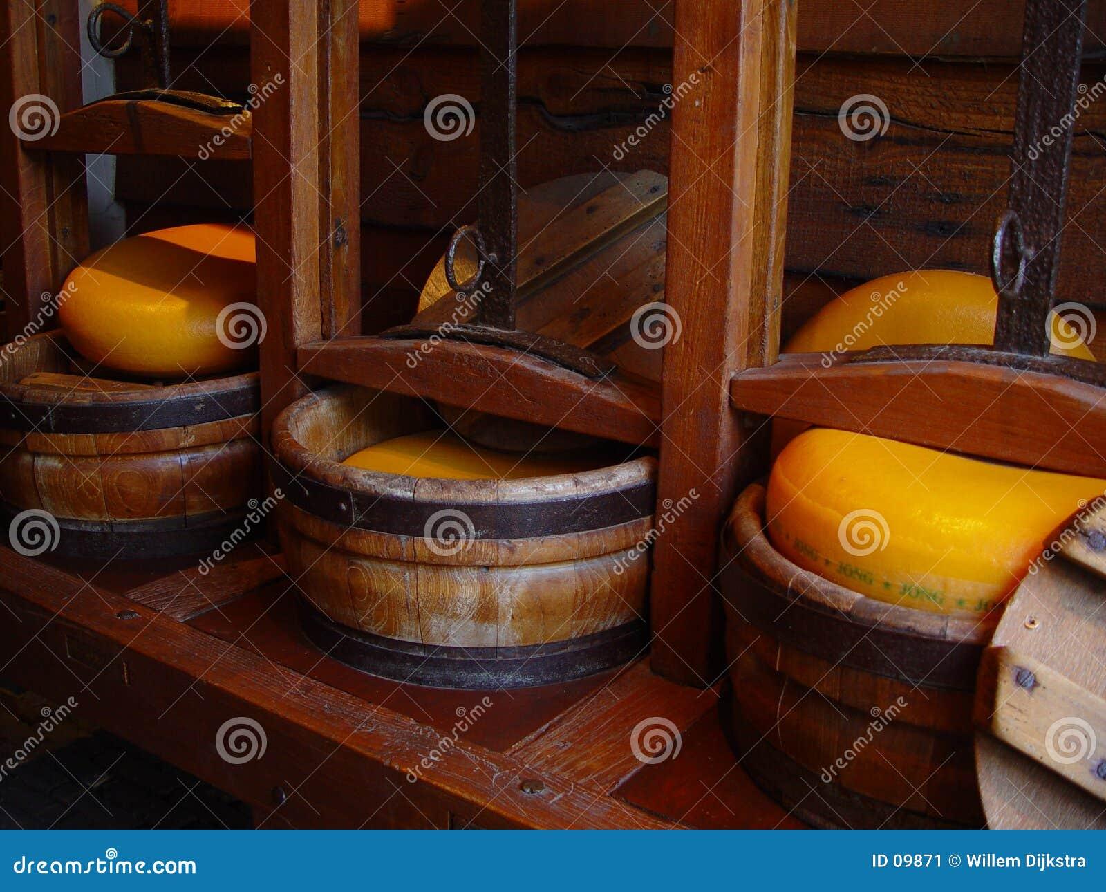 Fazendo o queijo