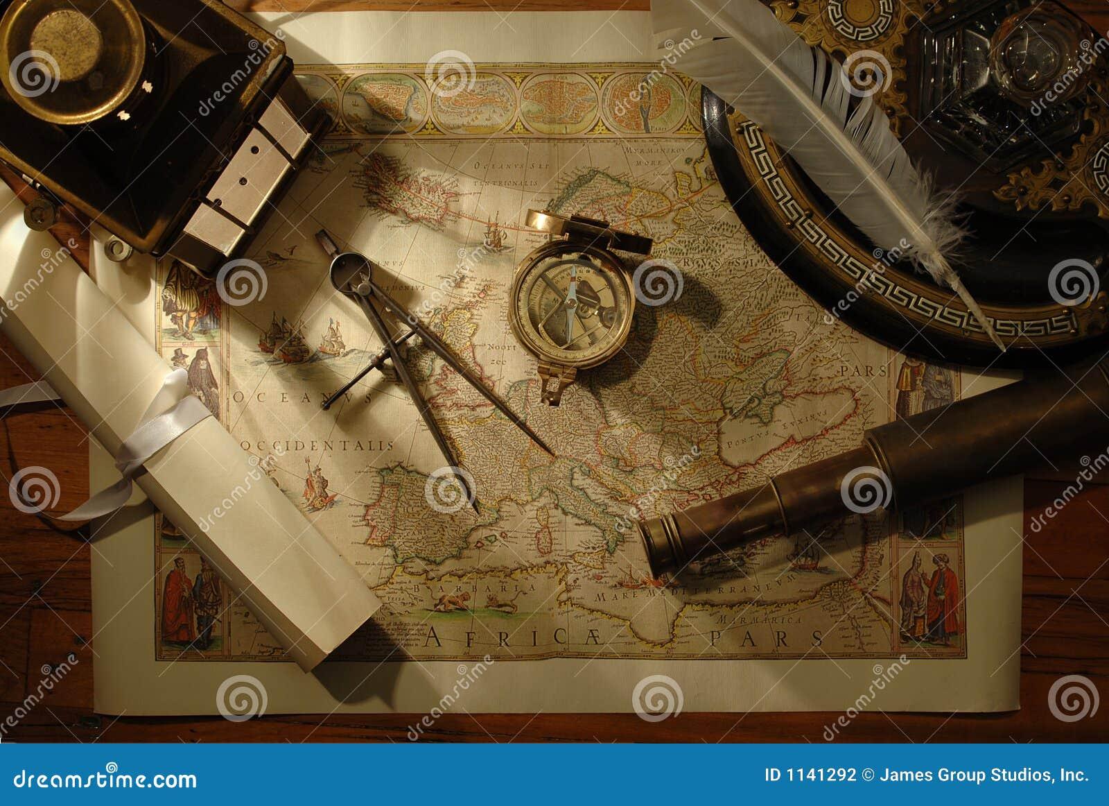 Fazendo um mapa do curso