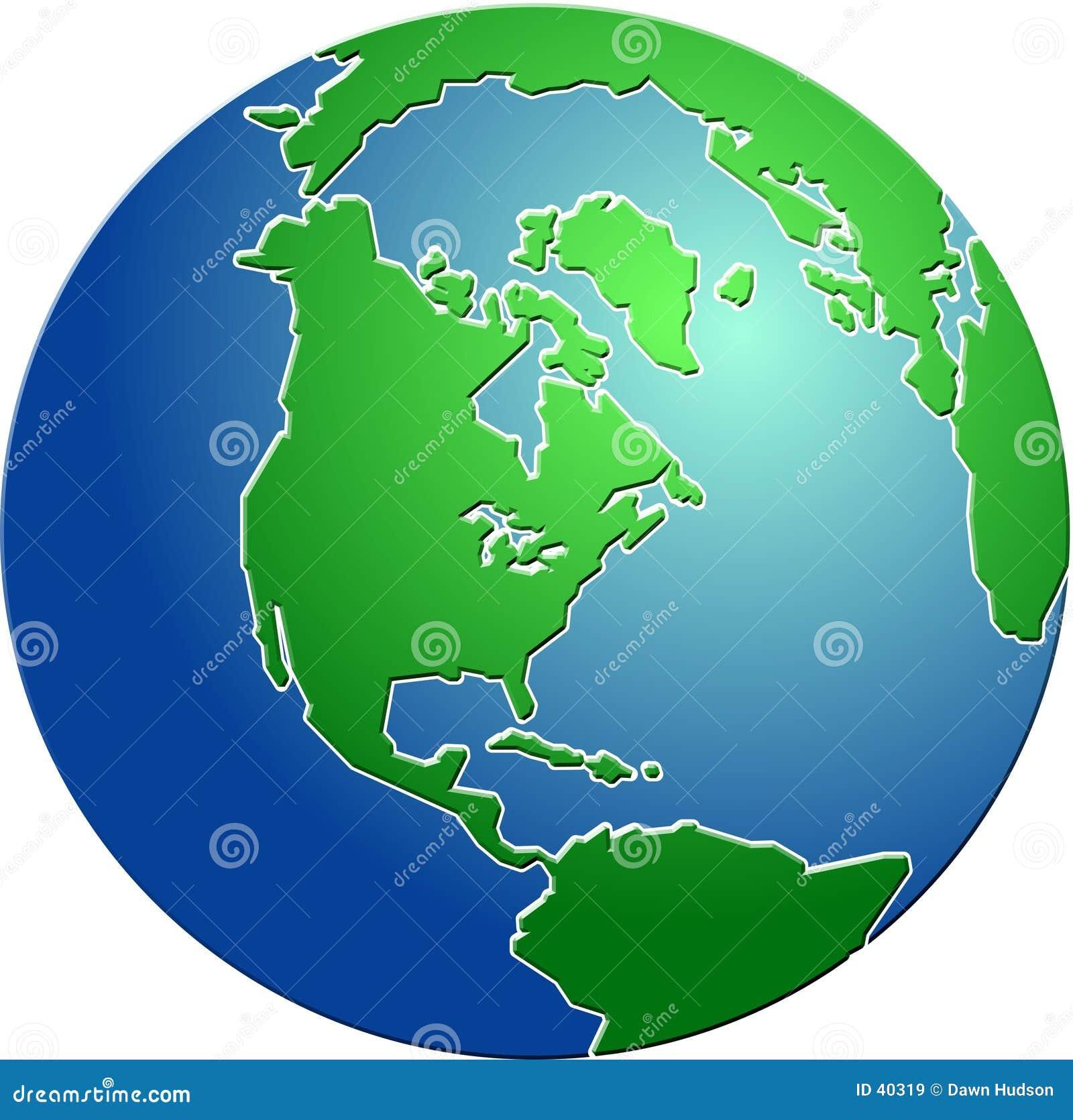 Download Fazująca kulę ilustracji. Ilustracja złożonej z świat, planeta - 40319