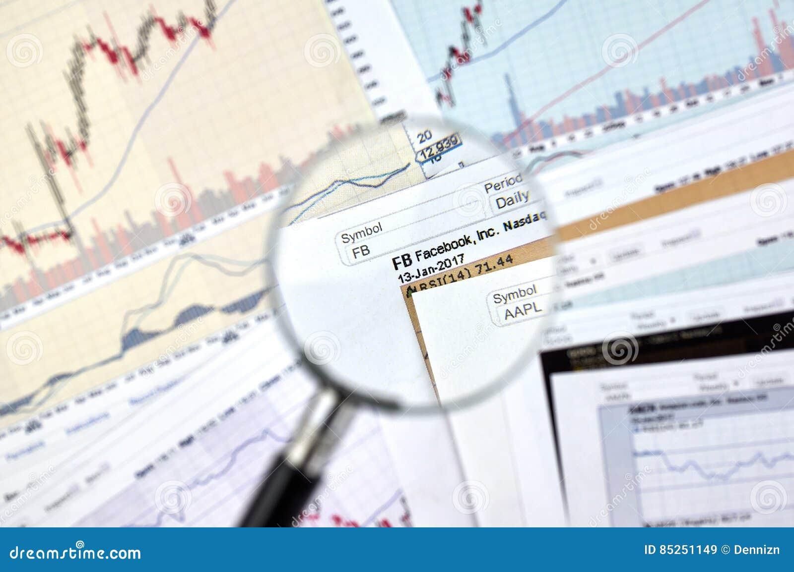 Fb ticker candlestick graphs editorial stock image image 85251149 fb ticker candlestick graphs buycottarizona