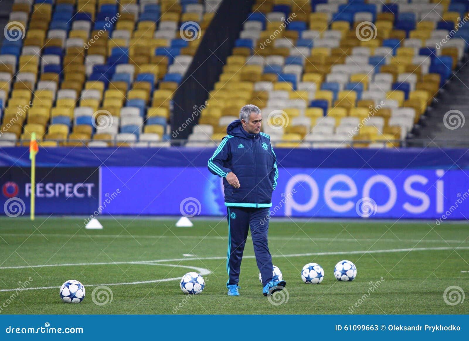 FC διευθυντής Jose Mourinho της Chelsea