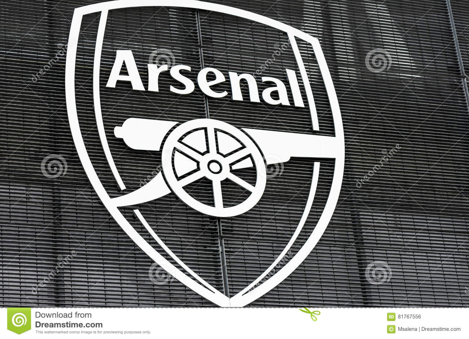 42c19256d0e284 FC Arsenal Emblem editorial photo. Image of arsenal, club - 81767556