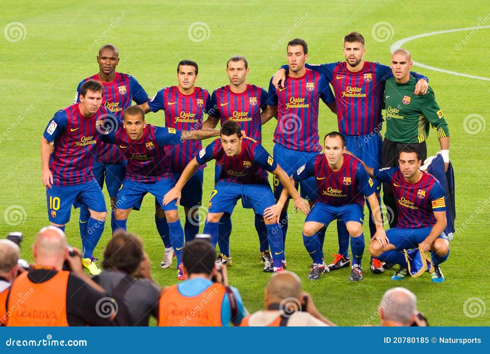 Alle Barcelona Spieler