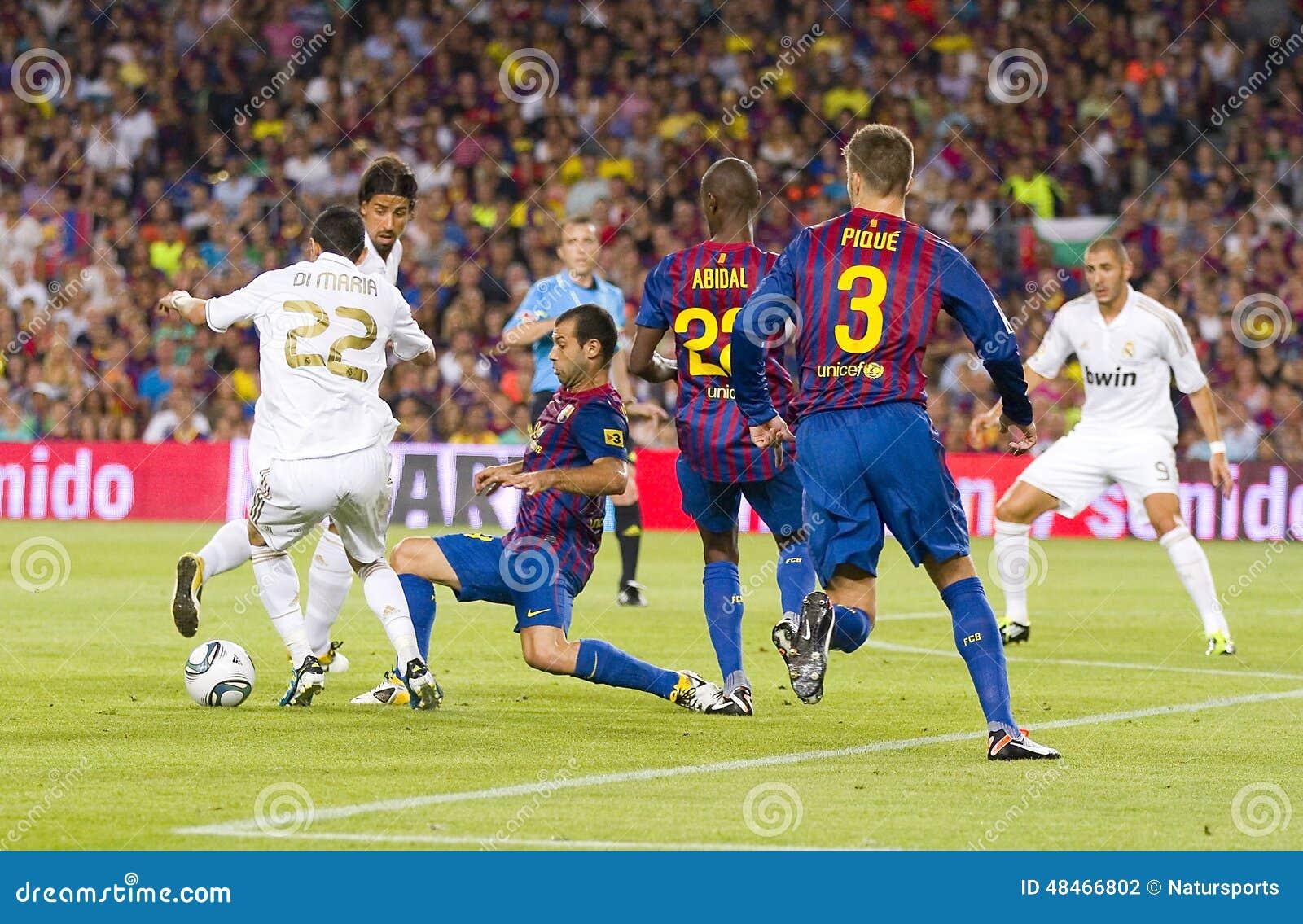 Barcelona Vs: FC Barcelona Vs Real Madrid Editorial Photography