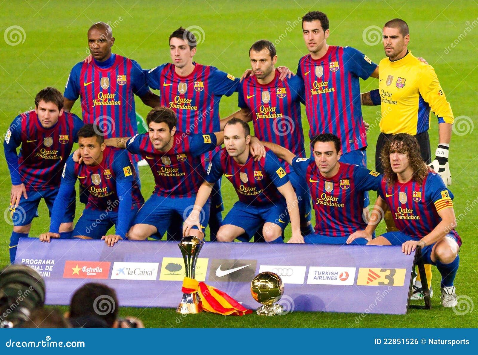 Fc barcelone avec la coupe du monde de club de la fifa photo ditorial image 22851526 - La coupe du monde des clubs ...