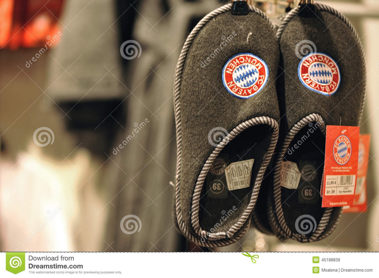best sneakers 74881 0e21a FC Bayern Megastore editorial stock image. Image of club ...