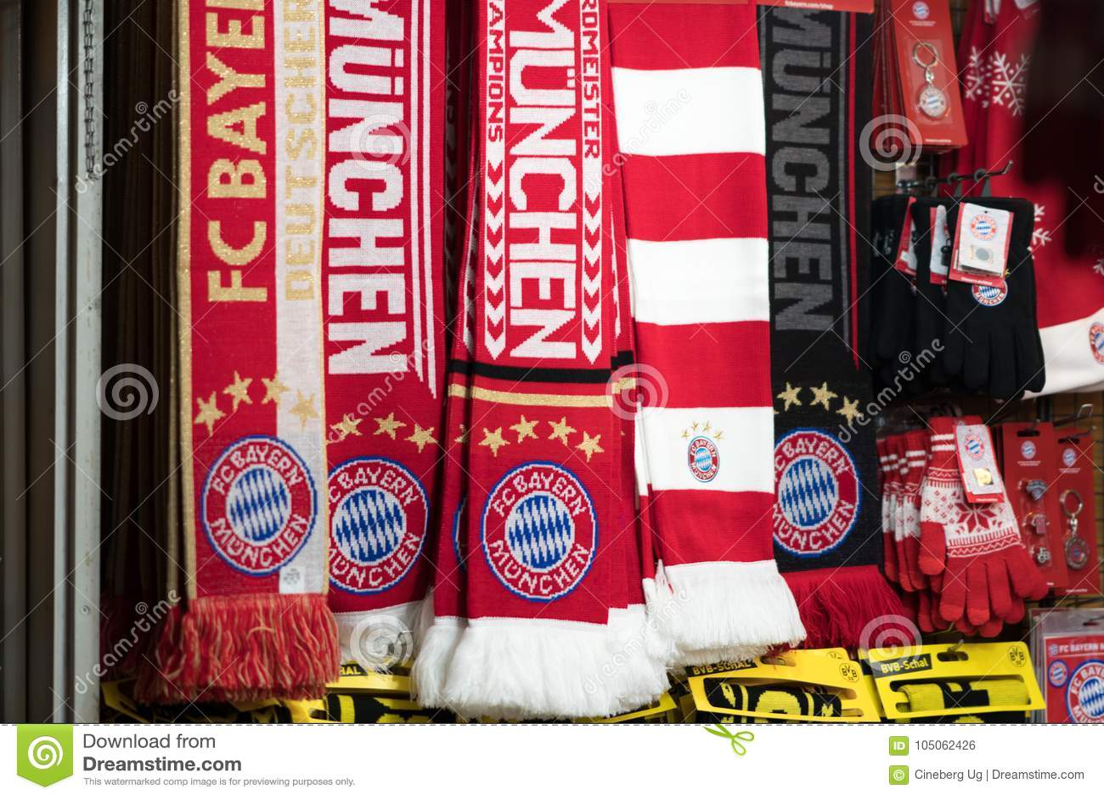 FC Bayern M/ünchen Schal We Are The Champions