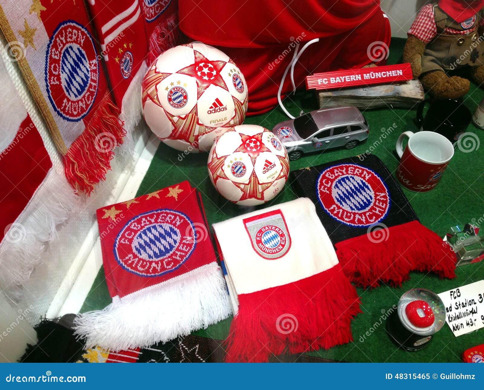 hot sale online c4983 d458d FC BAYERN Shop- MUNICH - Germany Editorial Image - Image of ...