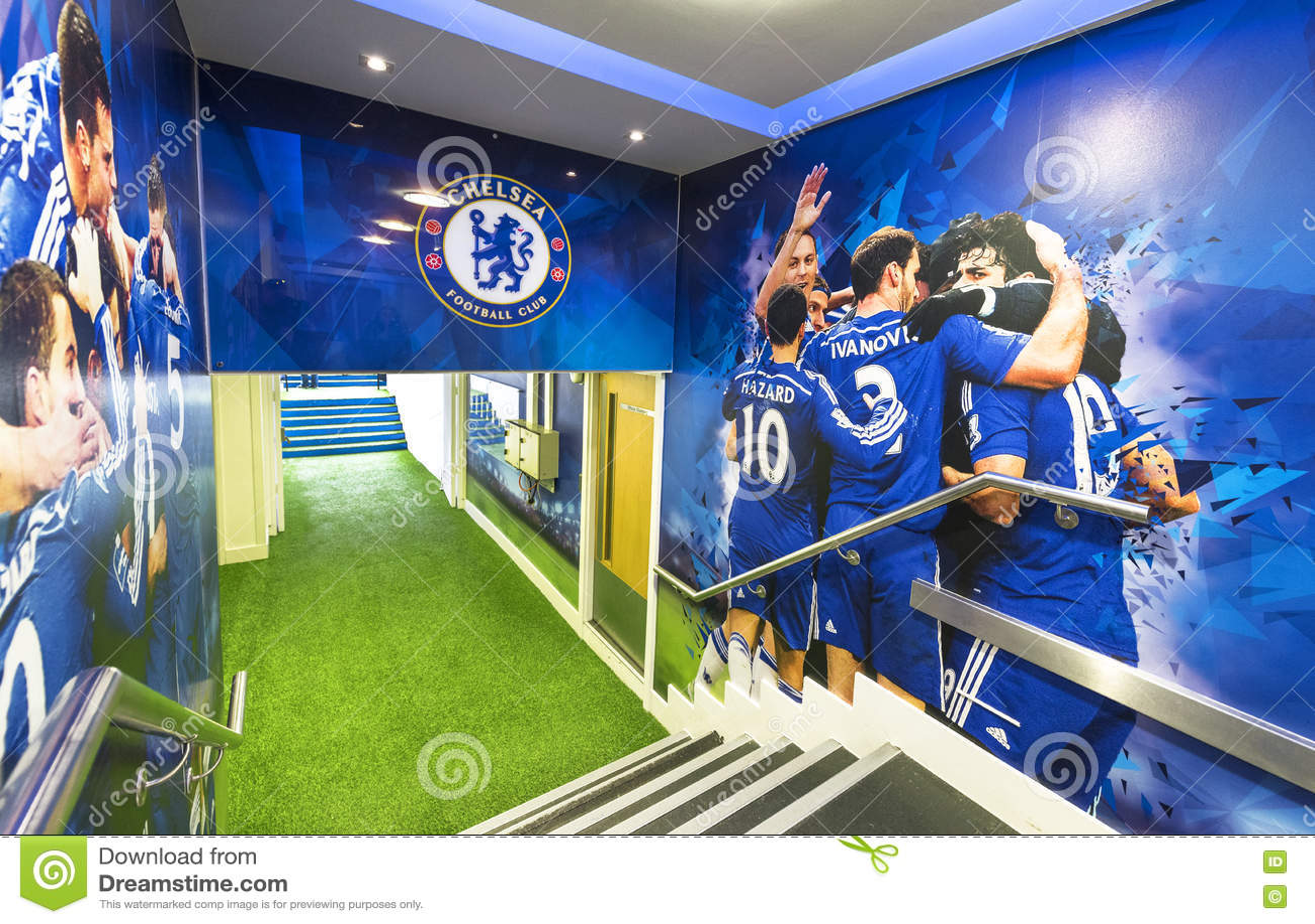 FC Chelsea Stadium Tunnel Editorial Photo. Image Of Bridge