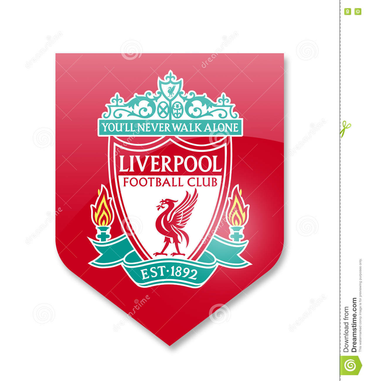 Fc liverpool editorial photography  Illustration of premier - 80893832