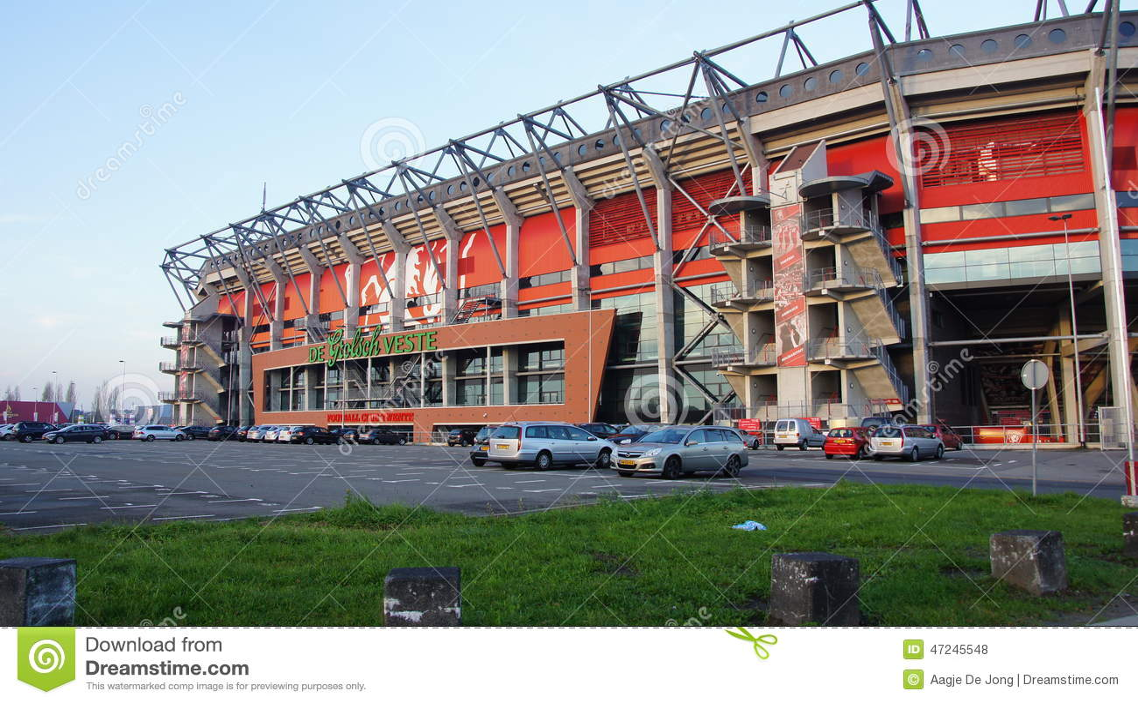 Fc Twente Football Stadium In Enschede Editorial Stock Photo Image Of Overijssel Veste 47245548