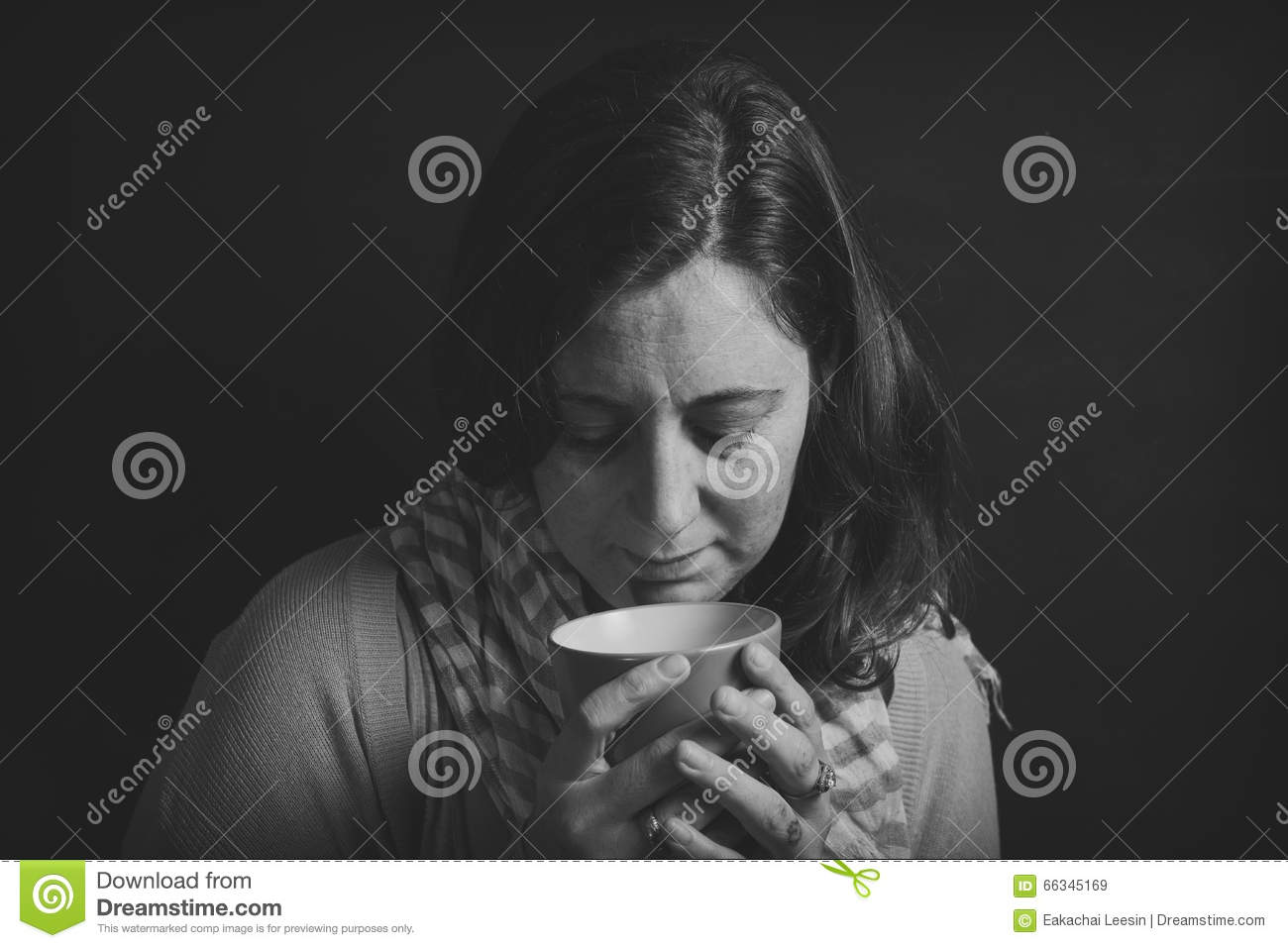 Fear, Loneliness, Depression, Abuse Stock Image - Image of ...