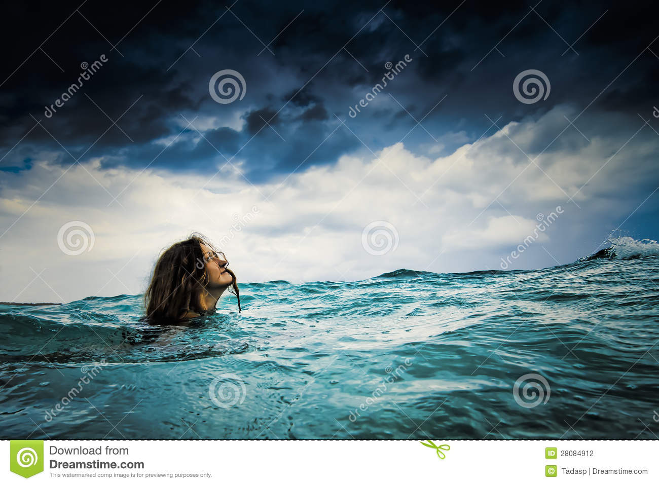 Fearless In Storm Stock Photography Image 28084912