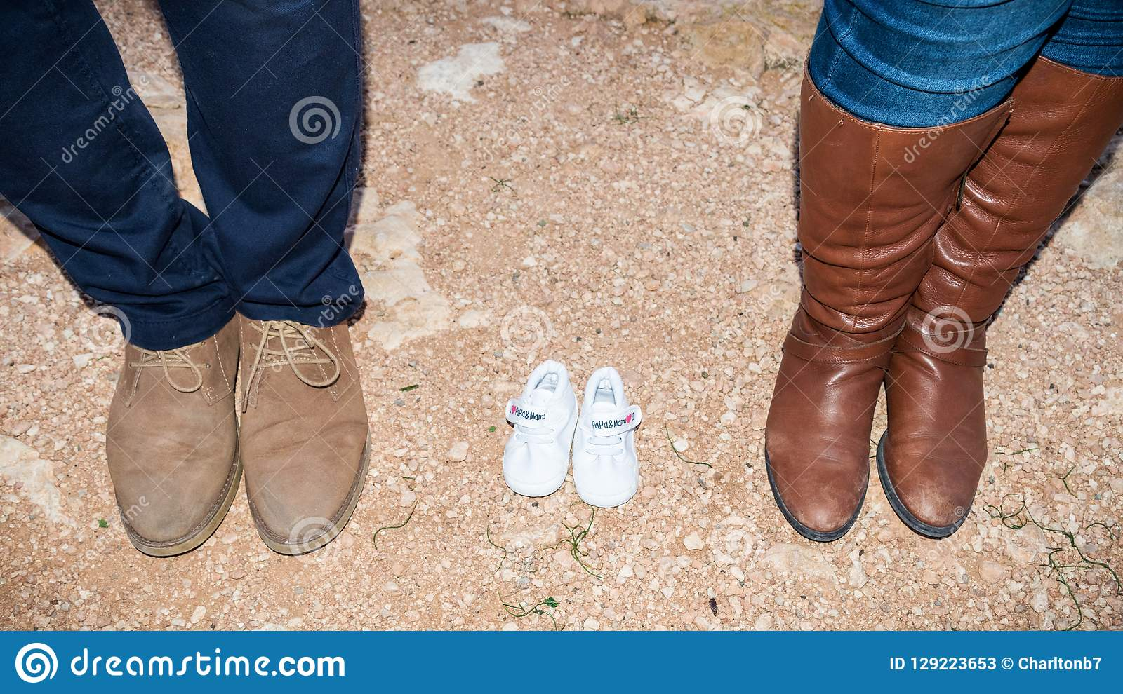 Family feet shoes