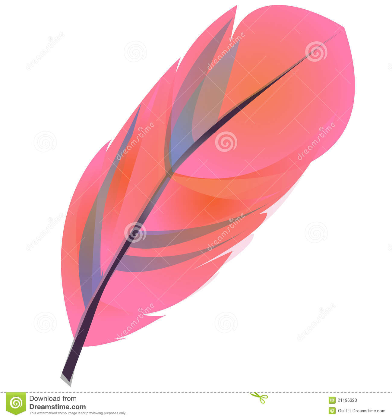 Feather Clipart Stock Photos - Image: 21196323