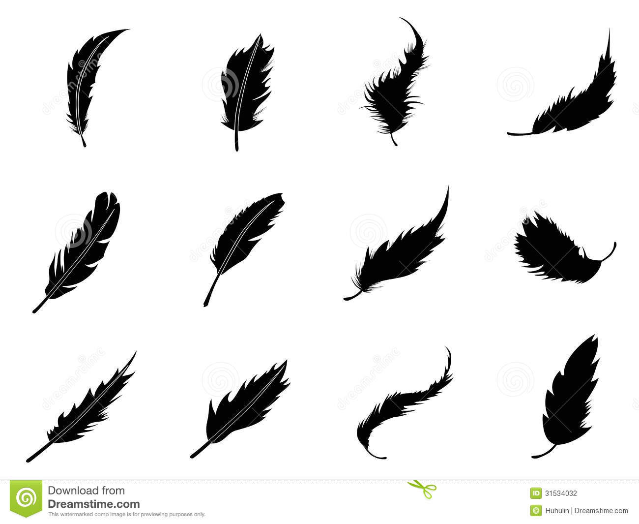 Feather Icons Set Stock Photography - Image: 31534032