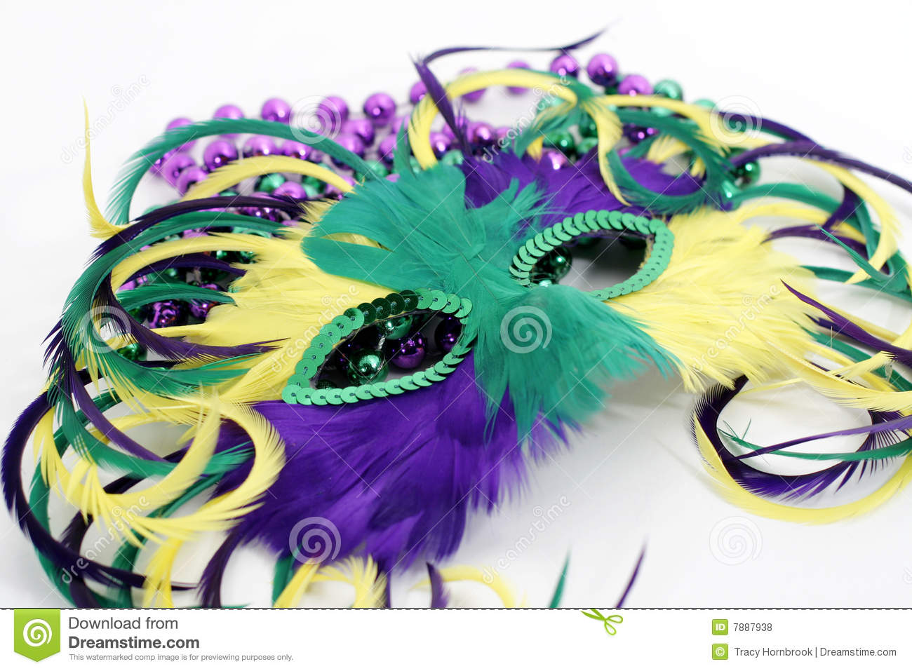 Mardi Gras Beads Clip Art Free Feather mardi gras mask with