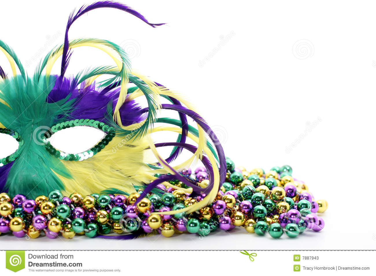 strings gold and carnival stock purple green mardi free royalty gras beads art vector in