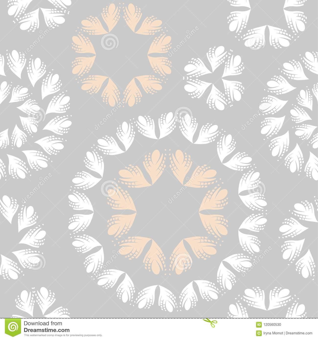 Feather Pattern Wallpaper Seamless Background