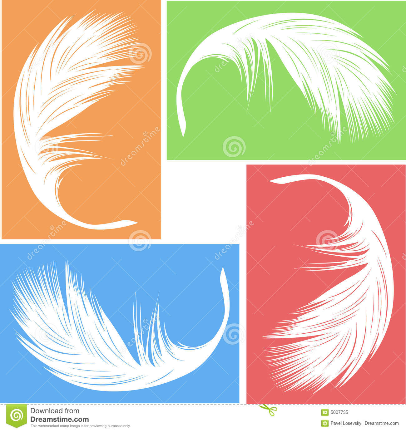 Feather Vector Royalty Free Stock Photo - Image: 5007735