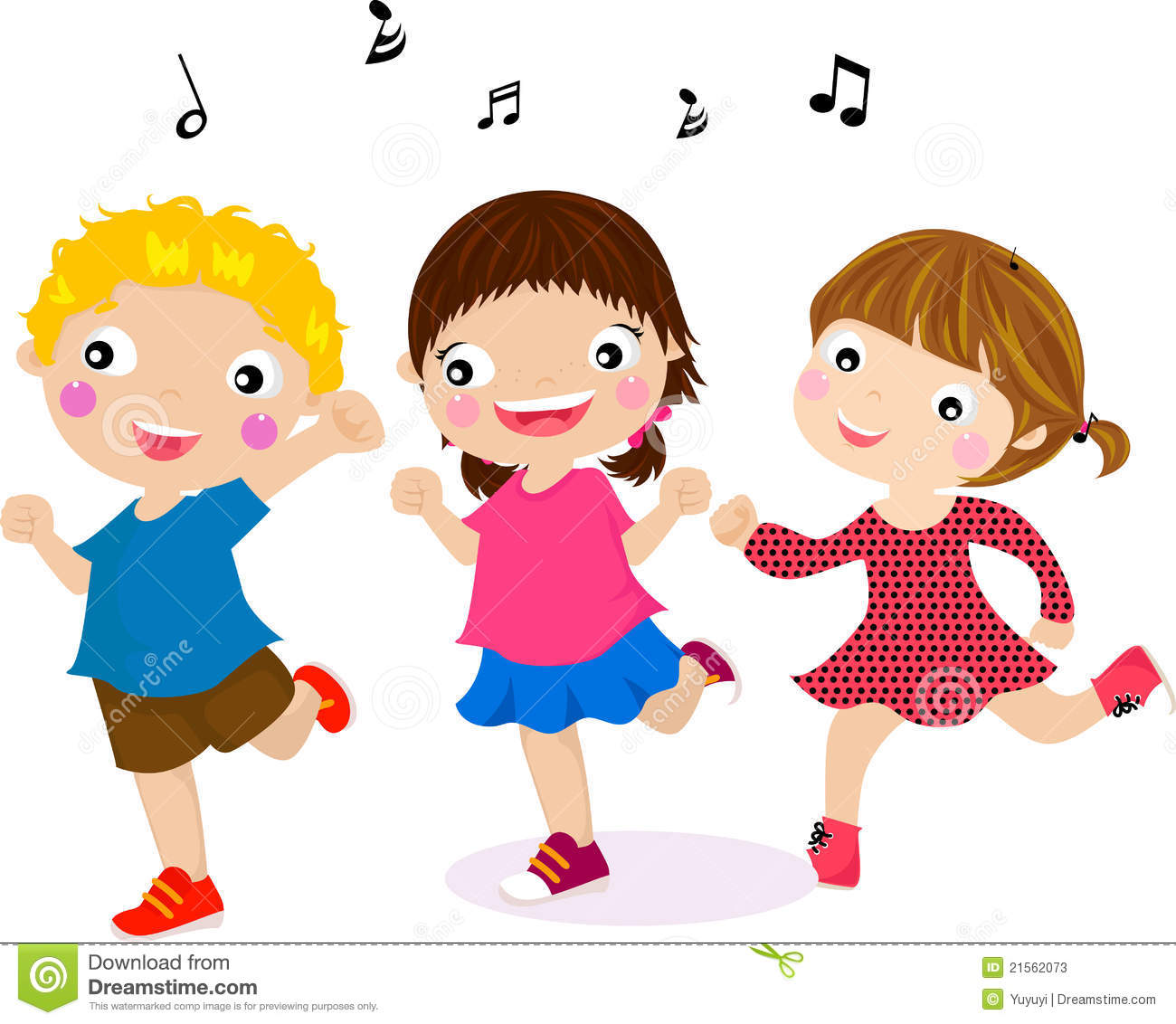 Featuring Dancing Kids stock illustration. Illustration of ...