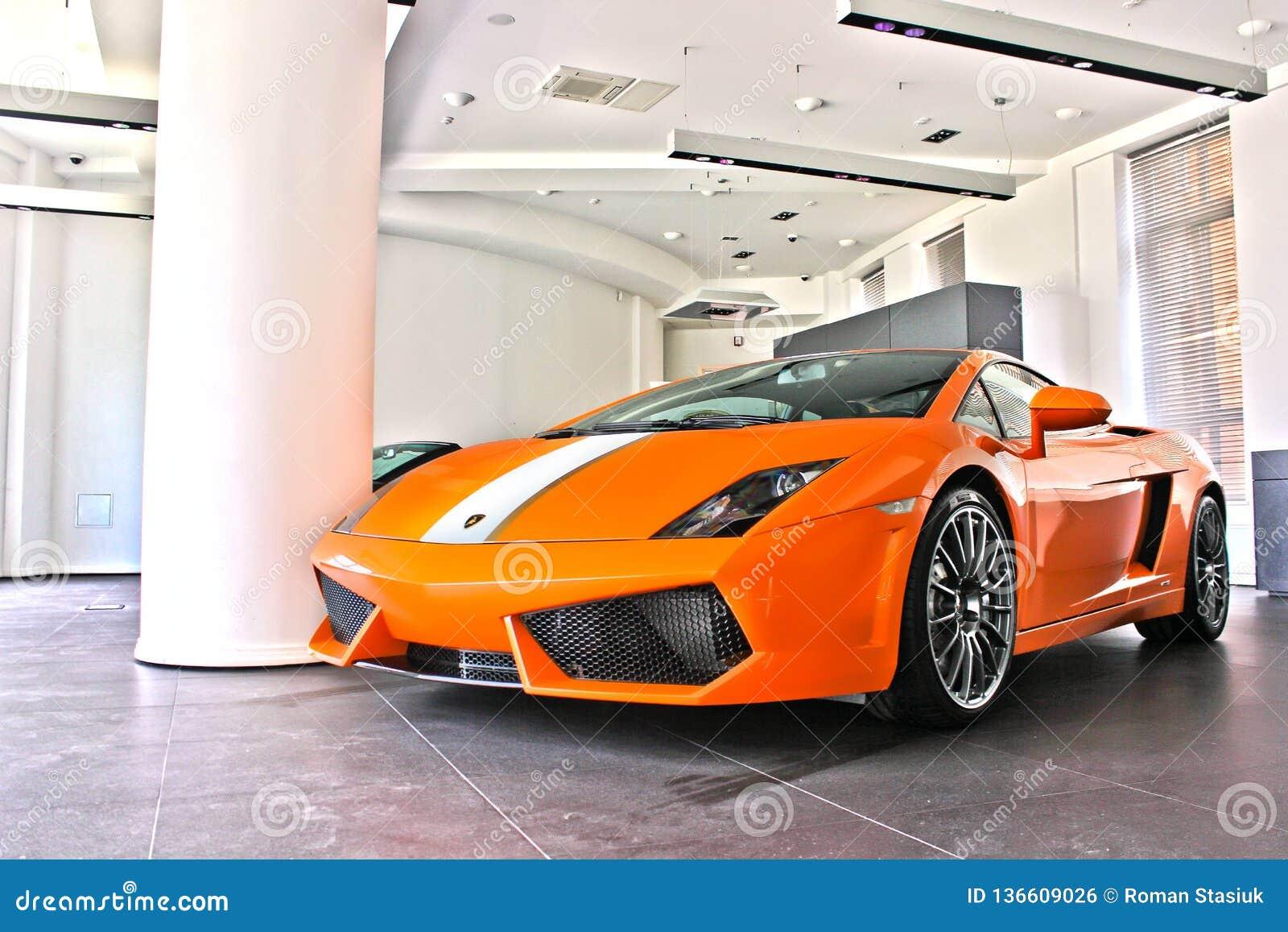 17 febbraio 2011 l Ucraina, Kiev Lamborghini Gallardo LP550-2 Valentino Balboni