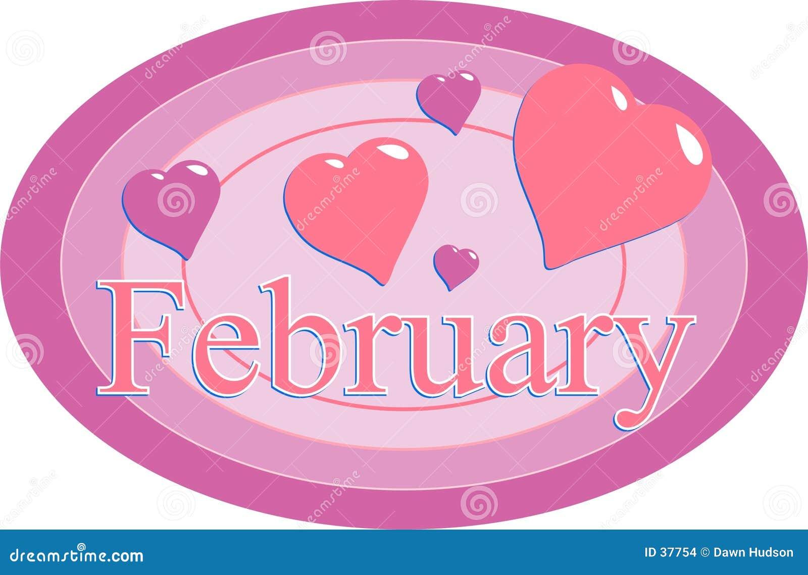 Download Febrero ilustración del vector. Ilustración de valentines - 37754