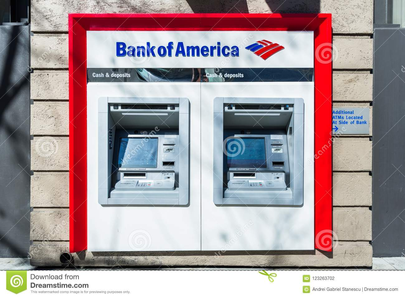 367 Bank America Atm Photos Free Royalty Free Stock Photos From Dreamstime
