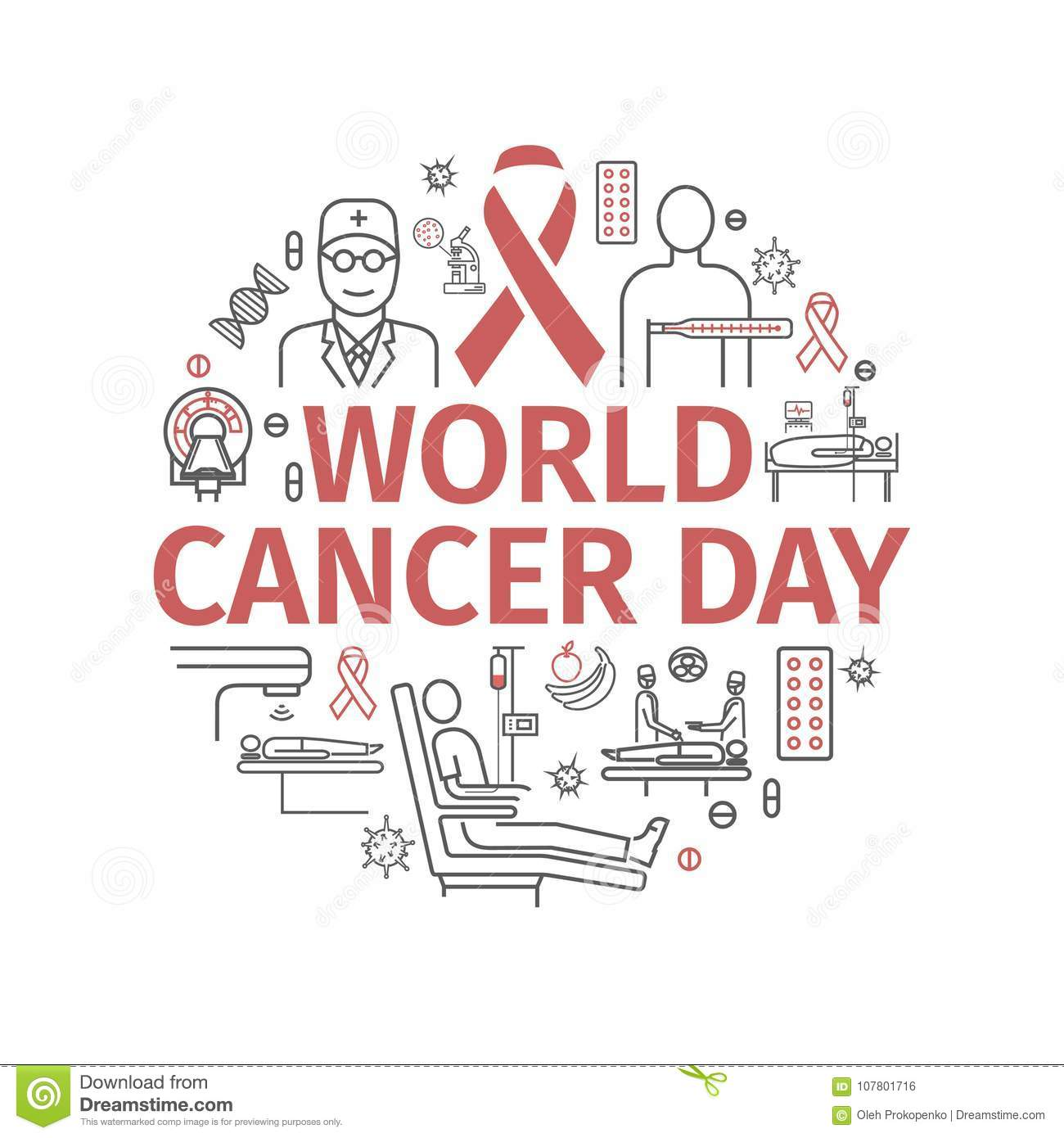 We Normally Sell Two A Day Today We Are Selling Up To 15: Banner World Cancer Day Stock Photos