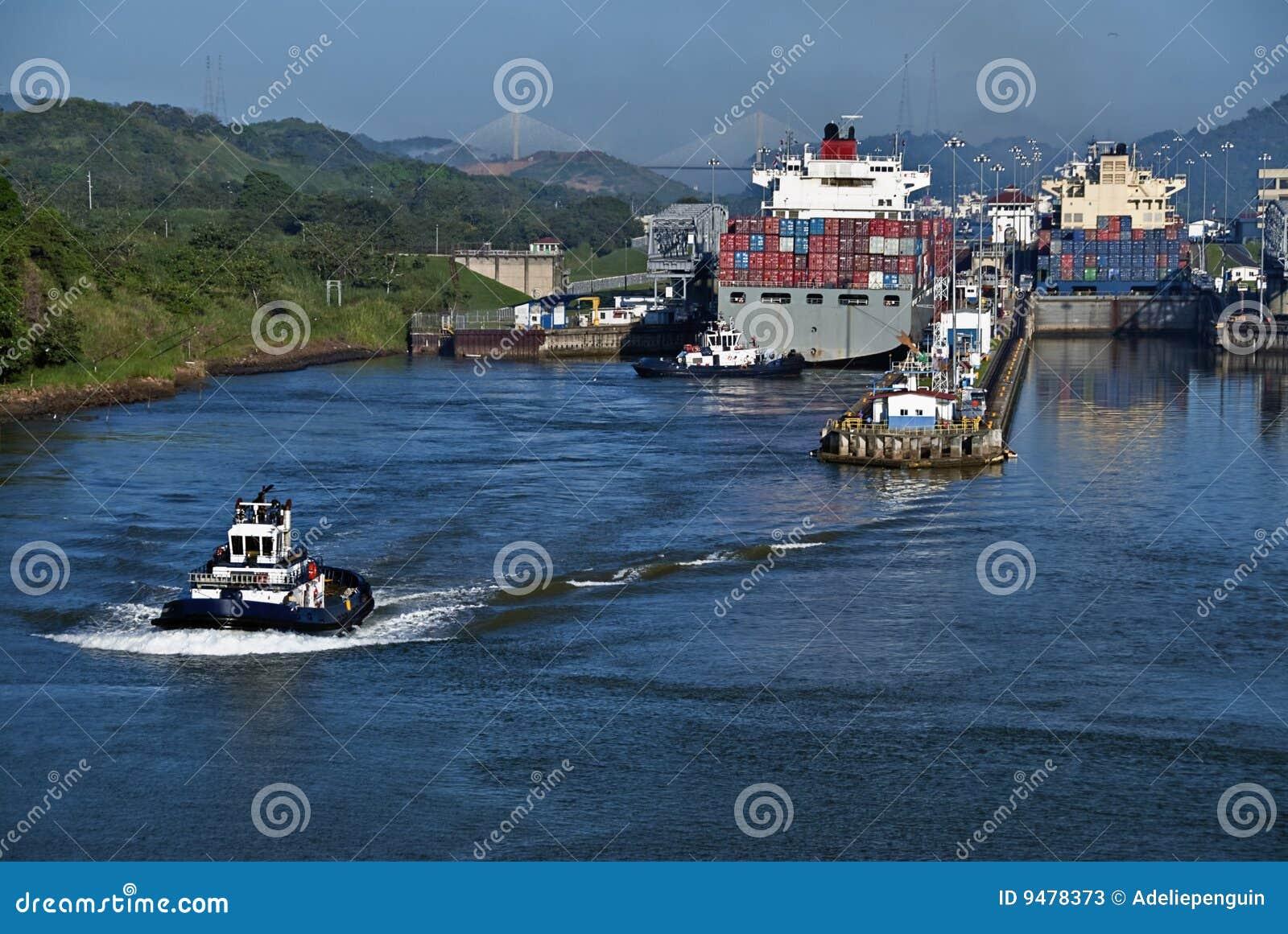 Fechamentos no canal de Panamá