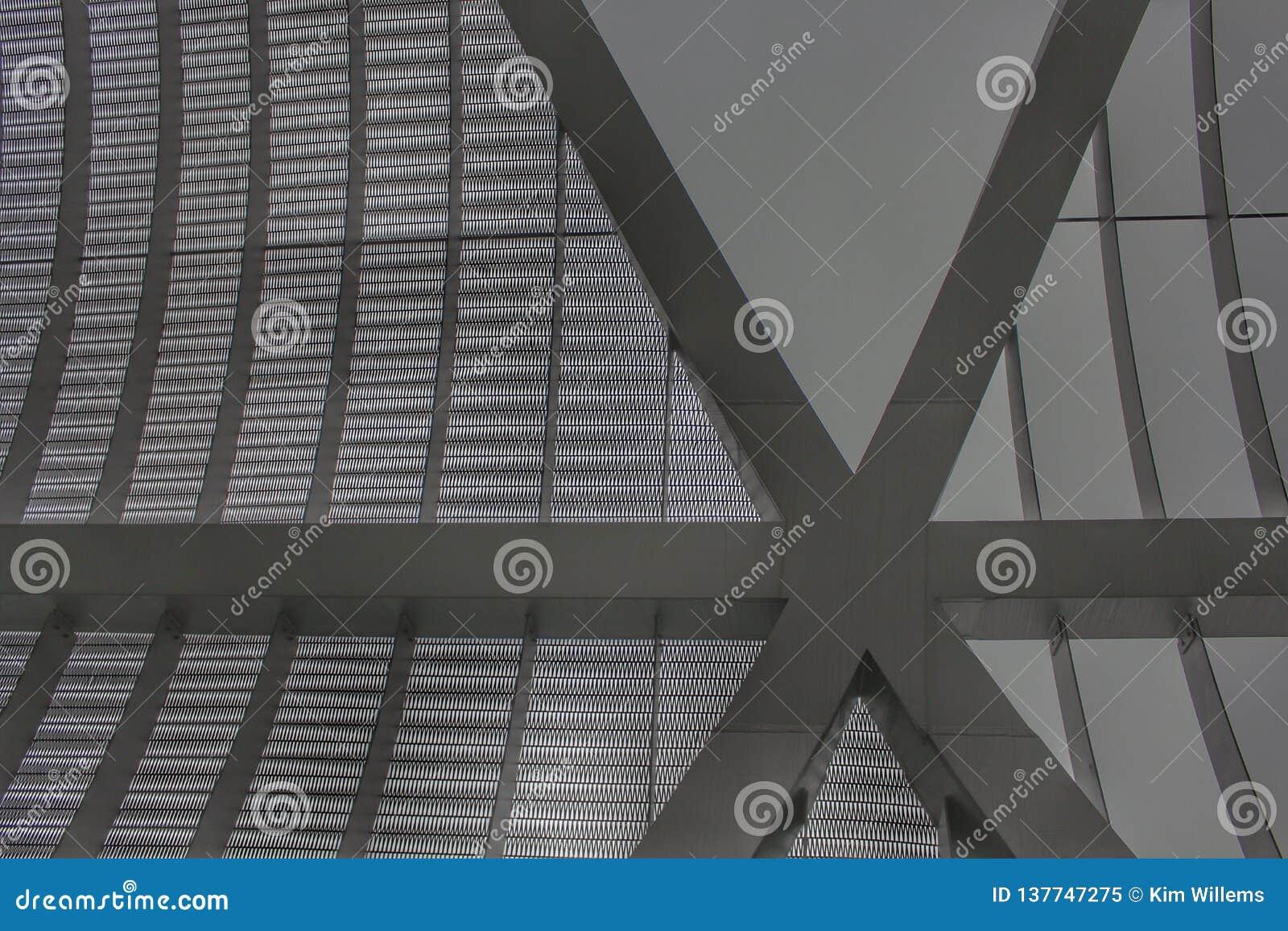 Feche acima do passadiço de Arganzuela