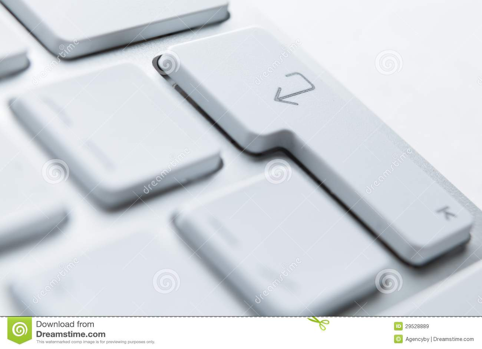 Feche acima dos botões do teclado do PC
